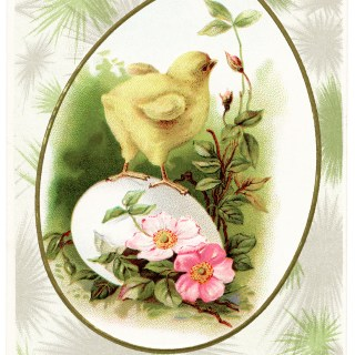 Free Vintage Image ~ Hearty Easter Greetings Postcard