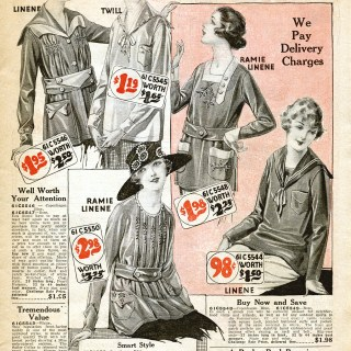Free Vintage Image ~ 1920 Catalogue Page