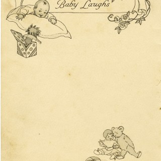 Free Vintage Image ~ Baby Book Page and Clipart