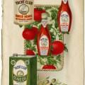 Yacht Club food, vintage cookbook page, vintage food clip art, kitchen printable, free digital graphics