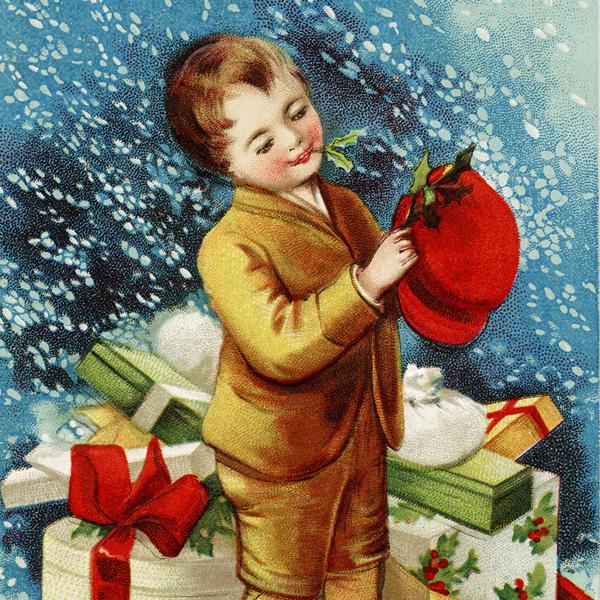 Free Vintage Image Clapsaddle Christmas Postcard Old Design Shop Blog