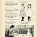 vintage school girl clip art, old school graphics, dillingham school poem, olive rush child art, old book page, printable old fashioned school