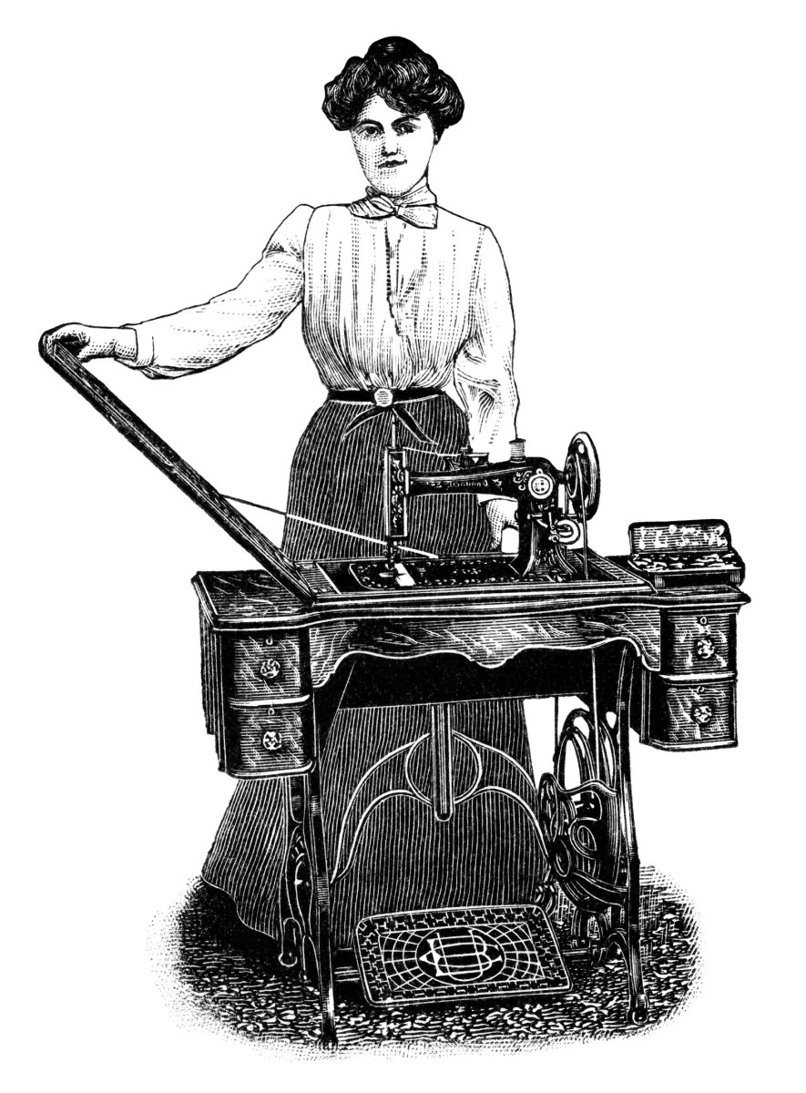 Kenwood Sewing Machine Free Clip Art Old Design Shop Blog