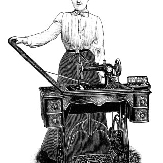 Kenwood Sewing Machine ~ Free Clip Art