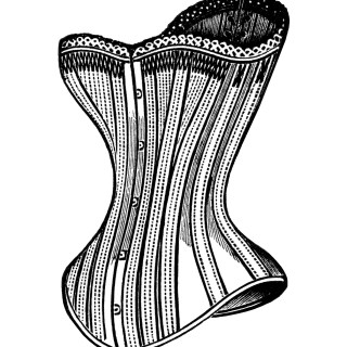 Free Victorian Corsets Clip Art