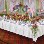 Now Available in my Etsy Shop ~ Mrs. Beeton's Formal Dinner Table a la Russe