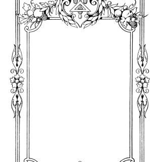 Ornate Vintage Frame ~ Free Clip Art