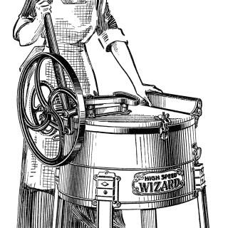 Antique Washing Machine Catalogue Listing ~ Free Graphics