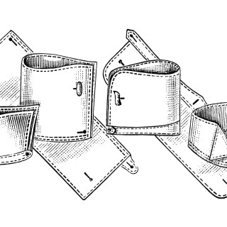 Men's Collars and Cuffs ~ Free Sewing Clip Art
