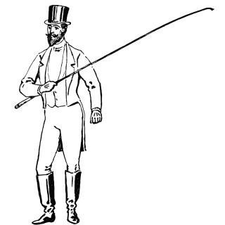 Victorian Circus Ringmaster