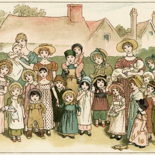 Street Show by Kate Greenaway