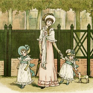 Going to See Grandmamma by Kate Greenaway