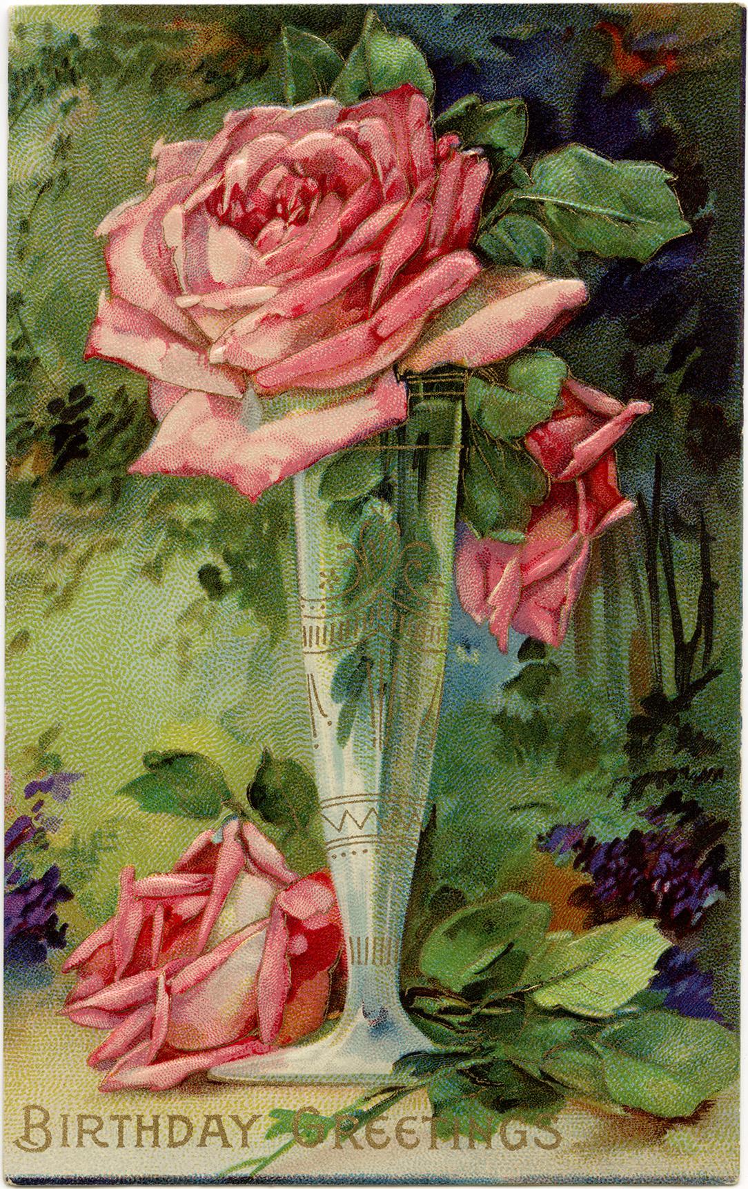 free victorian birthday clip art - photo #13