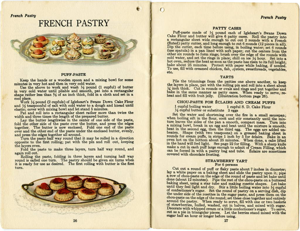 French Pastry Clip Art Old Design Shop Blog