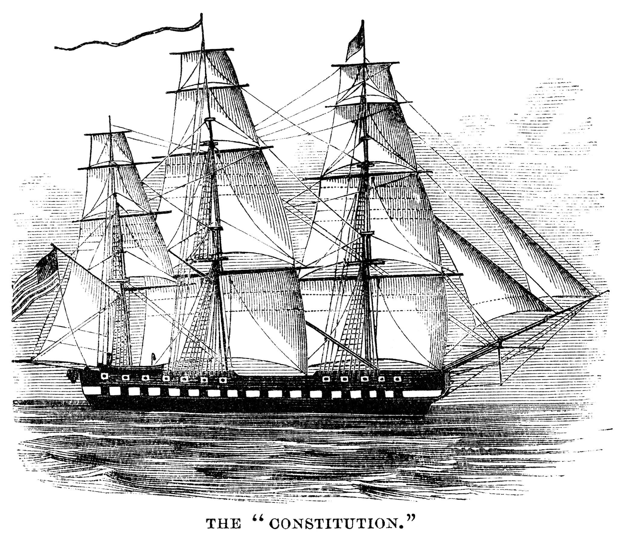 The Constitution Ship