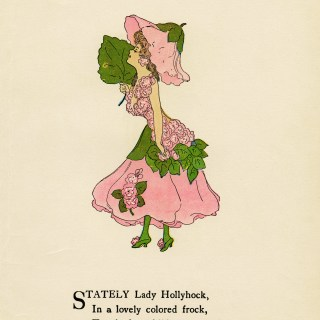 Hollyhock Flower Child