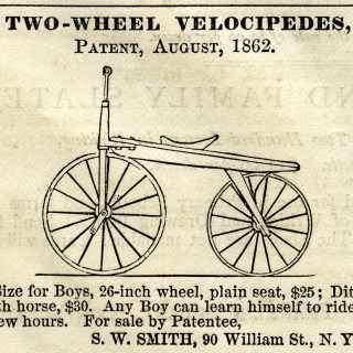 Two-Wheel Velocipede