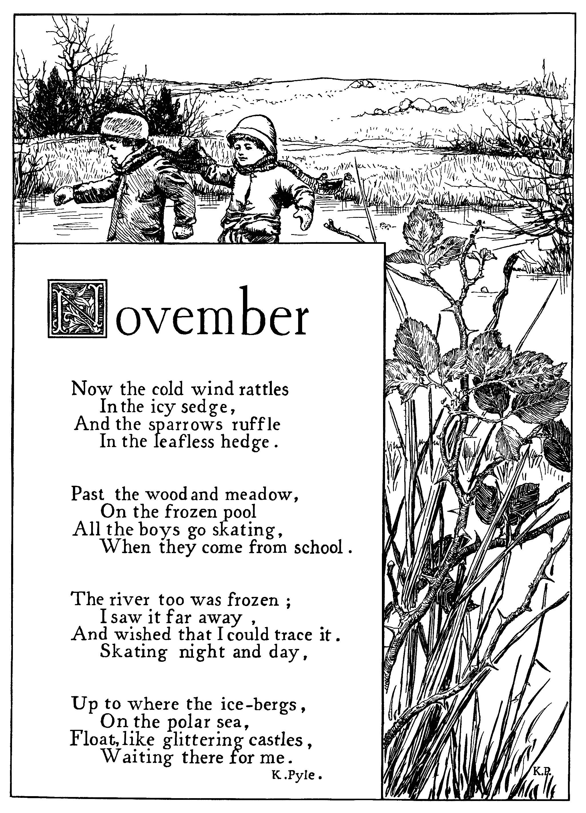 November Poem By K Pyle