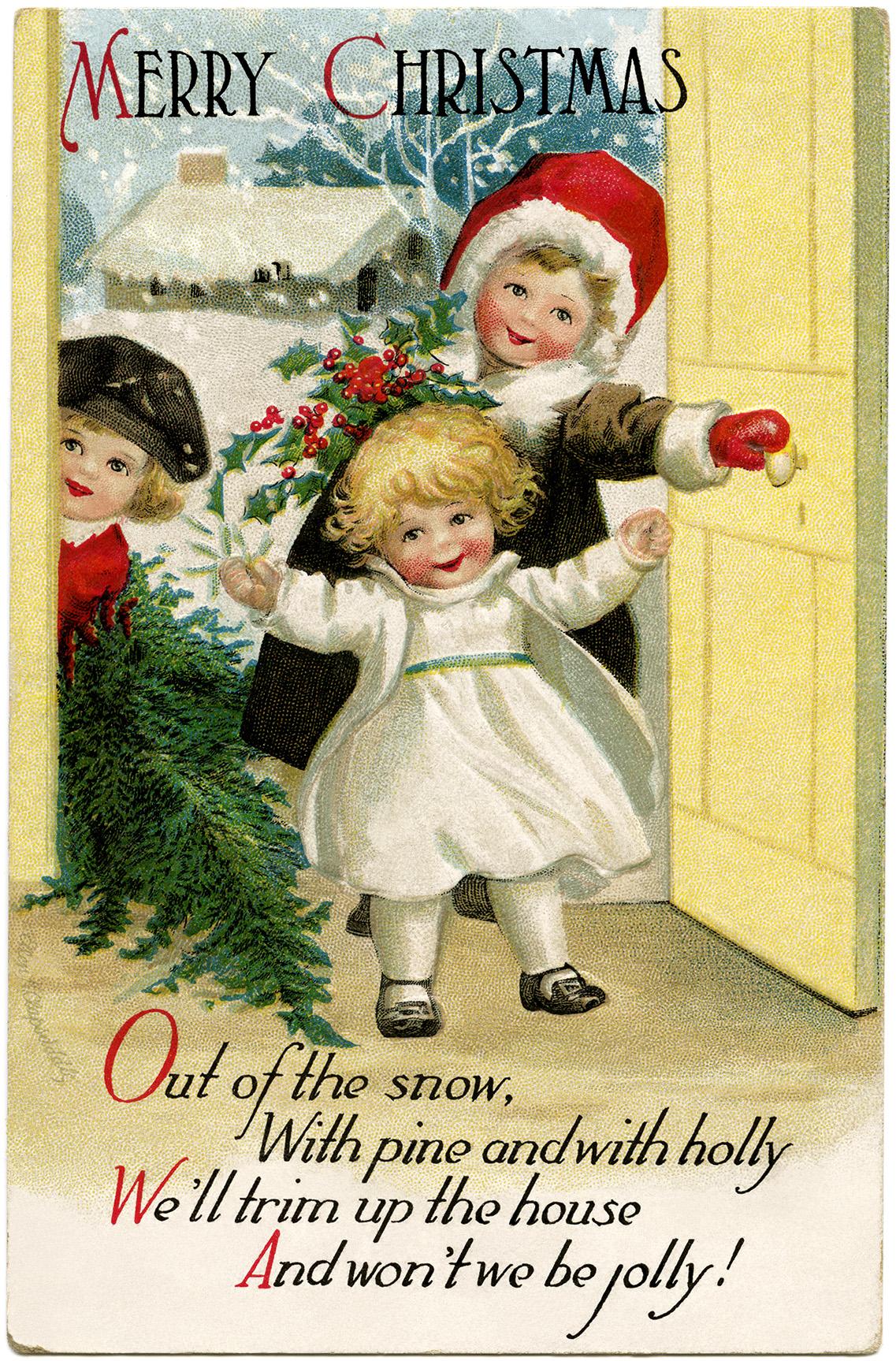 clapsaddle christmas children old design shop blog. Black Bedroom Furniture Sets. Home Design Ideas