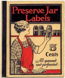 vintage canning, preserve label cover, jar label graphics, junk journal printable, kitchen ephemera