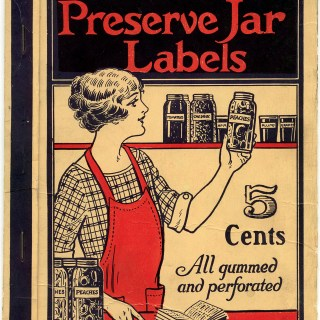 Preserve Jar Labels Booklet Cover