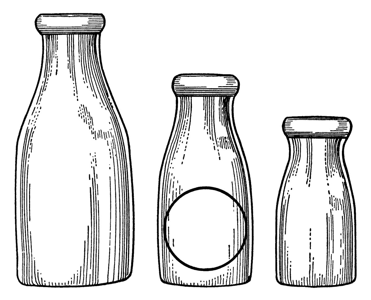 Old Fashioned Baby Bottles
