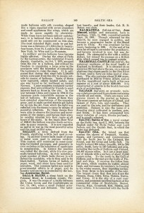 printable antique encyclopedia page