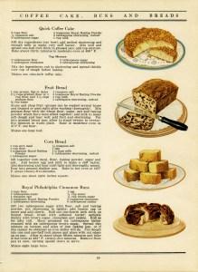 free vintage printable recipe page cake bread buns