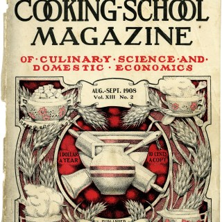 Shabby Cooking School Magazine Cover