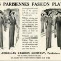 Les Parisiennes, vintage fashion, 1912 fashion, vintage magazine ad, antique ladies clothing
