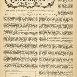 Victorian Social Code