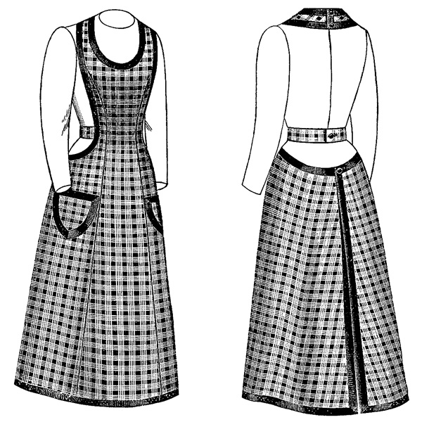 Victorian Ladies Apron Clip Art Old Design Shop Blog