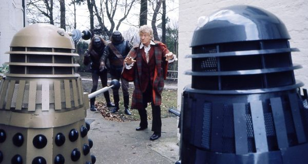 "The Third Doctors re-encounters the Daleks and their Ogron slaves, in ""Day Of The Daleks"" - 1972."