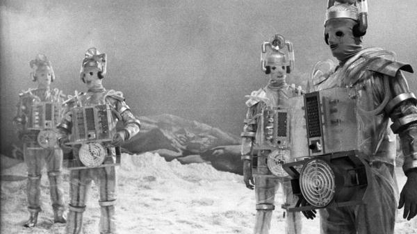 "Cybermen's ""box-y"" first appearance has a lasting effect on the ailing First Doctor, in ""The Tenth Planet"" - 1966."