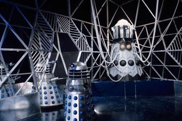 "The Dalek Emporer on Skaro - ""The Evil Of The Daleks"" - 1967."