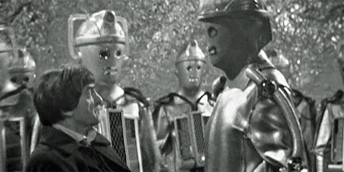 "The Cybermen memorably awaken, in ""The Tomb Of The Cybermen"" - 1967."