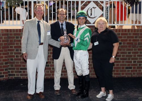 LADY_OLIVIA_The_17th_Running_of_the_Brookmeade_Stakes_07-06-13_CNL_Presentation
