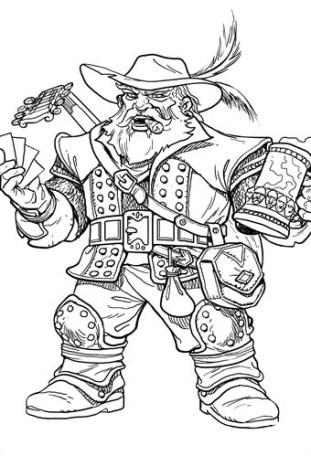 Dwarf Bard