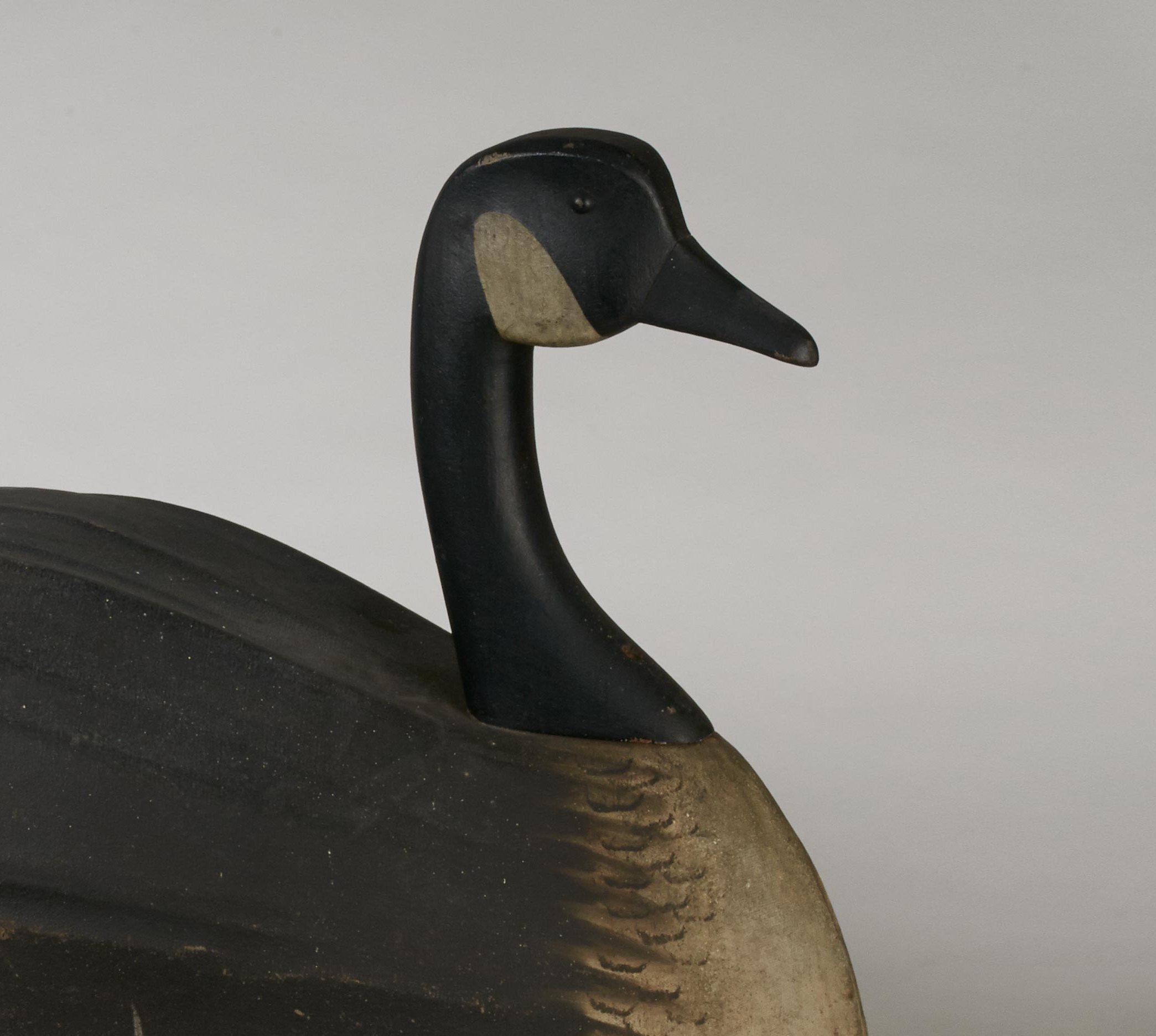 antique canada goose decoy rel=
