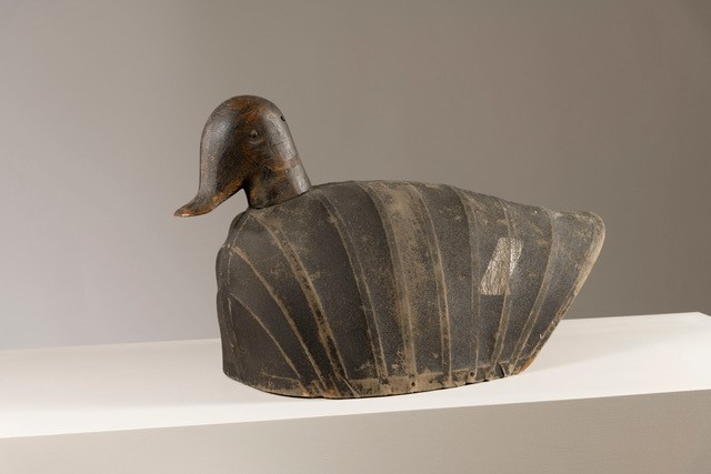 antique hunting duck decoy rel=