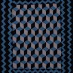 antique amish crib quilt