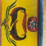 antique American lidded box