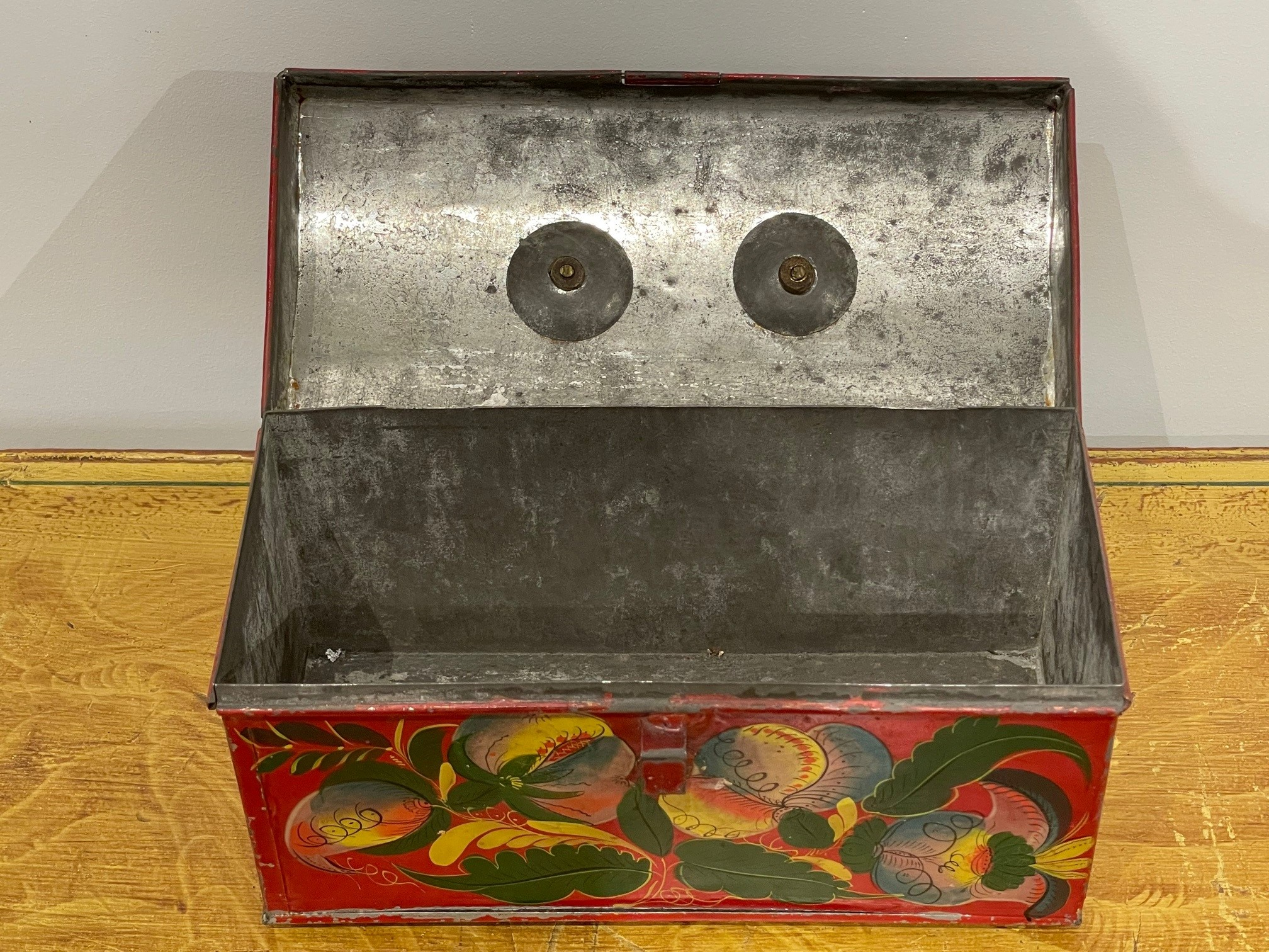 painted toleware document box rel=