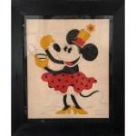 vintage minnie mouse pattern