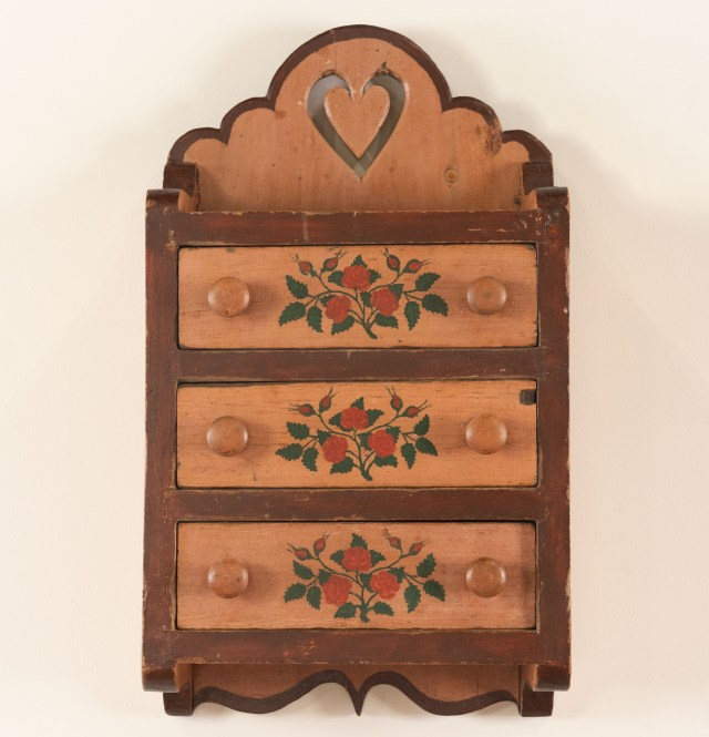 hanging spice chest
