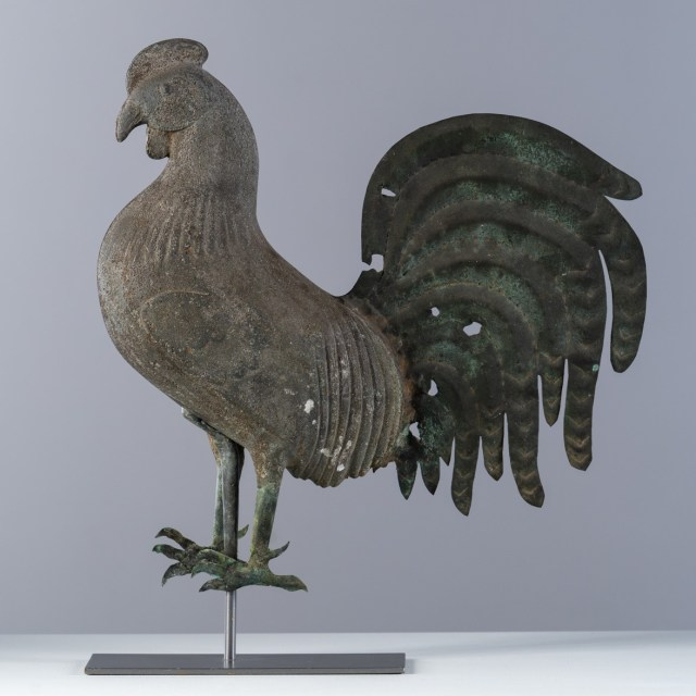 small howard rooster weathervane