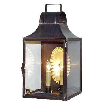 colonial street wall lantern 215