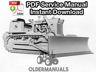 Case 800, 1000 Crawler Dozer Service Manual