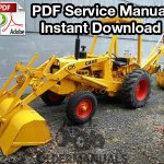 Case 580CK Tractor Loader Backhoe & Forklift Service Manual