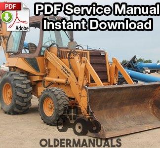 Case 780C Tractor Loader Backhoe Service Manual PDF Download